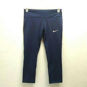 Nike Dri-fit cropped running pants Size Medium